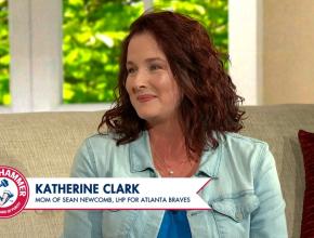 Jennie Finch Talks To Katherine Clark Mother Of Atlanta Braves LH Pitcher Sean Newcomb