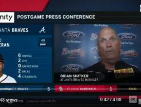 Brian Snitker Press Conference 062918