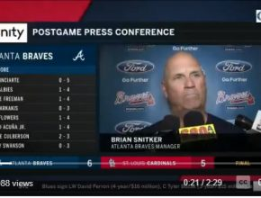 Braves Manager Brian Snitker Press Conference – July 1, 2018!