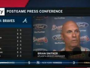 Braves Manager Brian Snitker Press Conference – July 2, 2018!