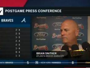Braves Manager Brian Snitker Press Conference – July 3, 2018