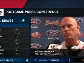 Braves Manager Brian Snitker Press Conference - July 6, 2018