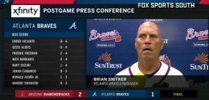 Braves Manager Brian Snitker Press Conference July 13 2018