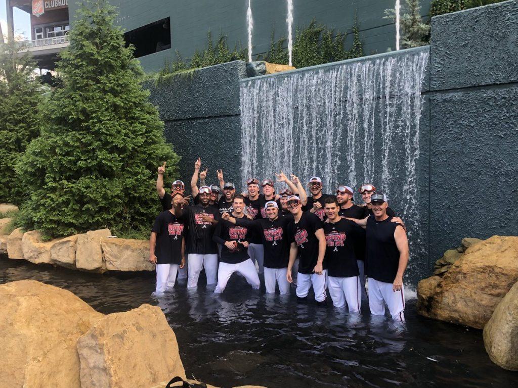 Atlanta Braves 2018 Division Champions Merchandise
