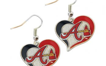Where to buy Atlanta Braves earrings!  Ladies are you a die-hard Braves fan?  Be sure to show your Braves spirit by wearing Atlanta Braves earrings.