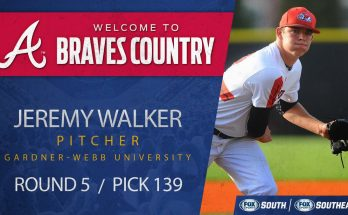 Jeremy Walker Right Handed Pitcher To Be Added To Braves Bullpen Tonight