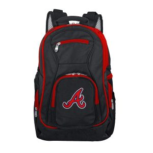 Best Backpacks For School Gift Ideas Atlanta Braves Trim Color Laptop Backpack