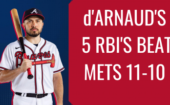 d'Arnaud 5 rbi game