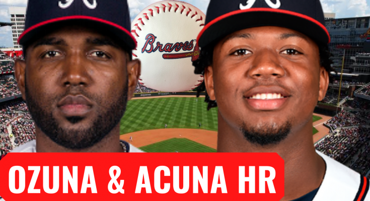 Marcell Ozuna Ronald Acuna Homeruns Give Braves Win Over Mets!
