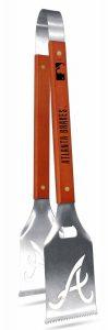 Atlanta Braves Grill-A-Tongs Grilling BBQ Tailgating Sportula New