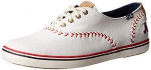 Atlanta Braves Keds Womens Champion MLB Pennant Baseball Fashion Sneaker