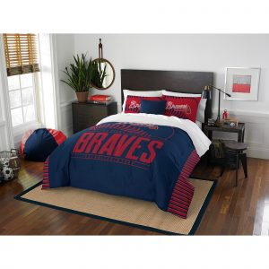 Atlanta Braves The Northwest Company Grand Slam Full-Queen Comforter Set