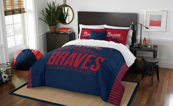 Atlanta Braves The Northwest Company Grand Slam Full-Queen Comforter Set