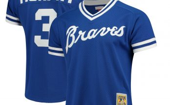 Dale Murphy Atlanta Braves Royal Blue Jersey