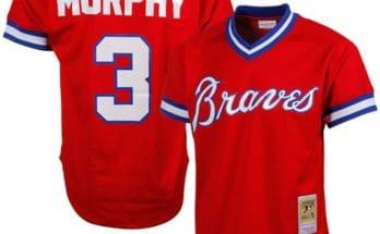 Dale Murphy Atlanta Braves Red Jersey