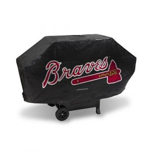Rico Industries Atlanta Braves Deluxe Grill Cover